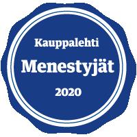 Kauppalehti menestyjät 2020 sinetti