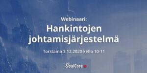 SoulCore hankintojen johtamisjärjestelmä webinaari